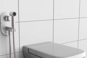 Новинка на складе! Гигиенический душ с термостатом!