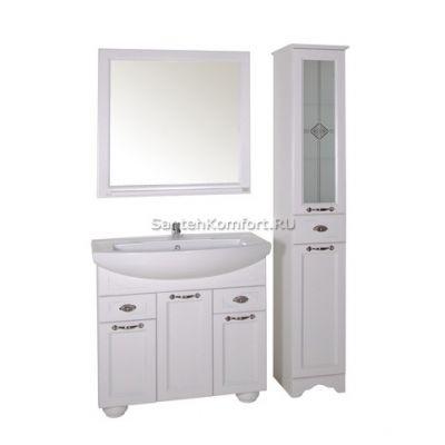 АСБ-Мебель Комплект мебели Бергамо 85 белый