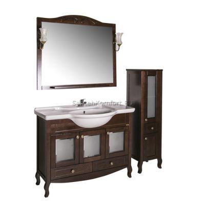 АСБ-Мебель Комплект мебели Флоренция 105 витраж бук тироль