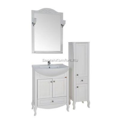 АСБ-Мебель Комплект мебели Флоренция 65 белый патина