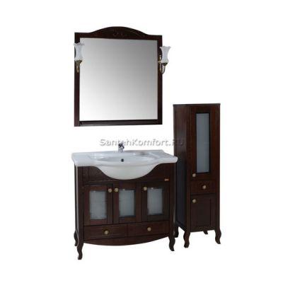 АСБ-Мебель Комплект мебели Флоренция 85 витраж бук тироль