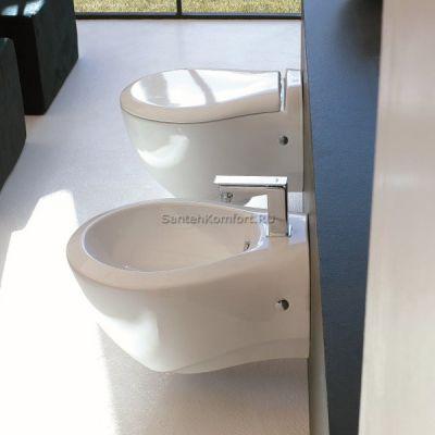 Биде подвесное ArtCeram Blend BLB001 01; 00 (36x52 см)