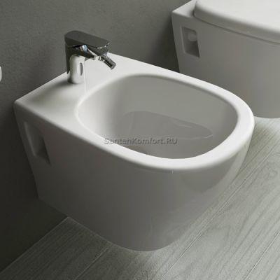 Биде подвесное ArtCeram Ten TEB002 01; 00 (36x52 см)