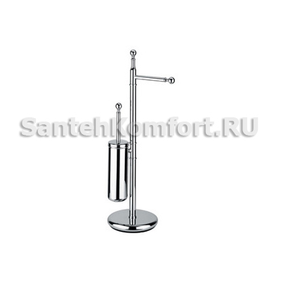 Стойка для туалета напольная Bagno&Associati REGENCY RE635.51 хром