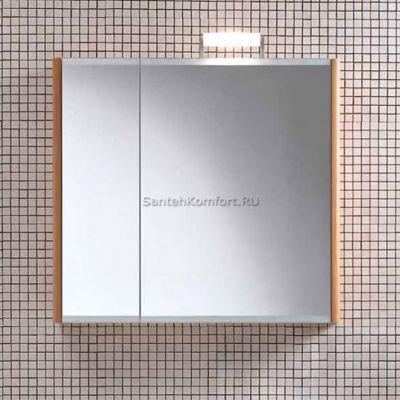 Зеркальный шкаф Berloni Bagno SN07 DX светлый дуб (82х75 см)