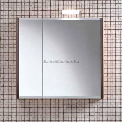 Зеркальный шкаф Berloni Bagno SN07 DX венге (82х75 см)