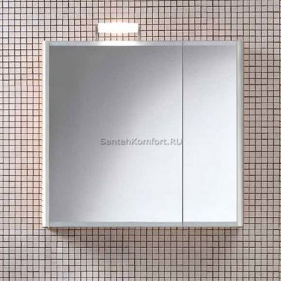 Зеркальный шкаф Berloni Bagno SN07 SX белый (82х75 см)