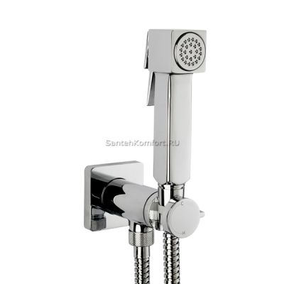 Гигиенический душ со смесителем Bossini CUBE E38001CR