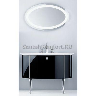 Мебель для ванной Burgbad DIVA (120 см) чёрный глянец