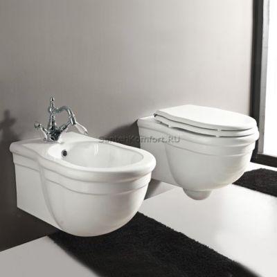Биде подвесное Hidra Ceramica Ellade DW 14 (55х36 см)