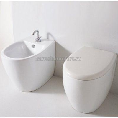 Биде напольное Hidra Ceramica Loft LO14 (54х37 см)