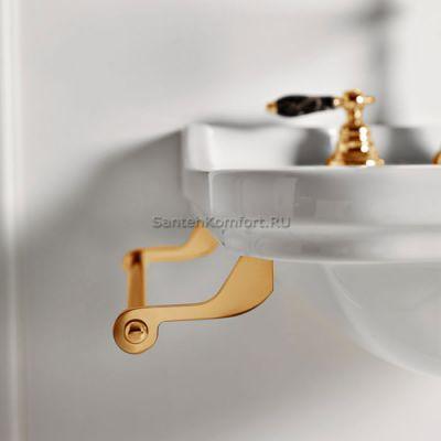 Полотенцедержатель боковой Kerasan Waldorf (золото)