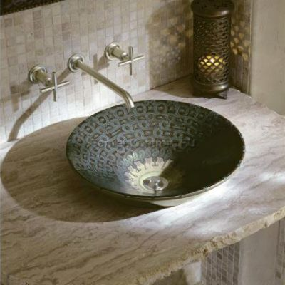 Kohler Serpentine Bronze раковина накладная 41 см