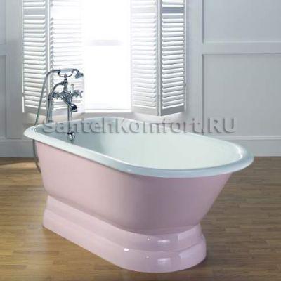 Чугунная ванна RECOR Roll Top 154х77