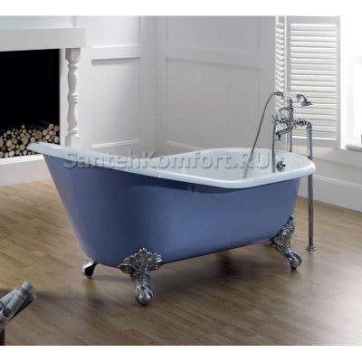 Чугунная ванна RECOR Slipper 154х77