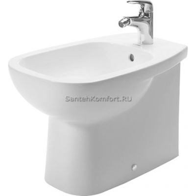 Биде напольное Duravit D-CODE (56x36 см), 224110