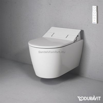 Унитаз-биде подвесной Duravit ME by Starck (57х37 см), 252859