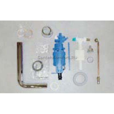 Механизм смыва для бачка 9102 (хром)