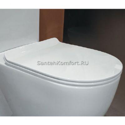 Сиденье с крышкой для унитаза Flaminia Link 5051CW04