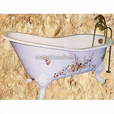 Ванна чугунная Herbeau Bathtub Marie Louise 155х74