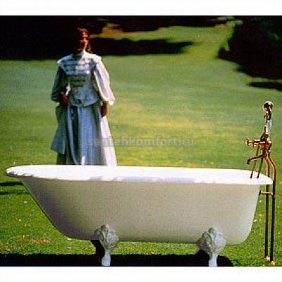 Ванна чугунная Herbeau Bathtub Retro 170х77