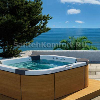 Бассейн Jacuzzi Santorini Pro Freestanding (230x215 см)